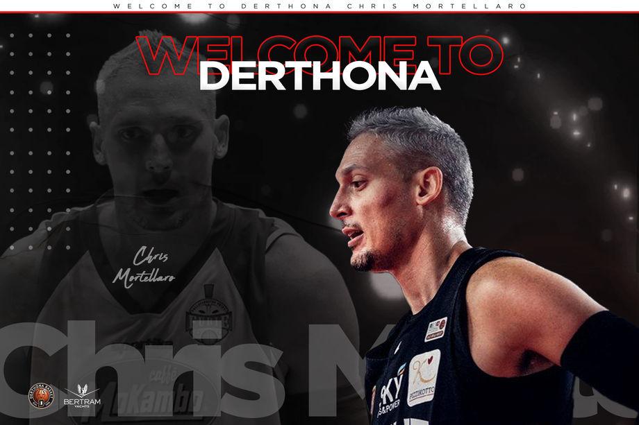 Il Bertram Derthona si rinforza: arriva Chris Mortellaro
