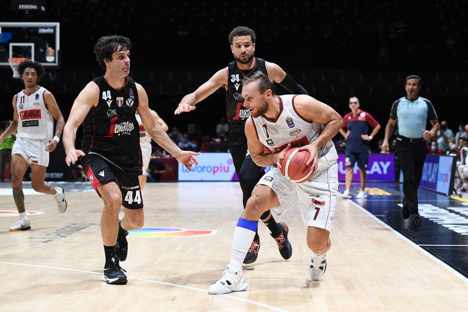 Umana Reyer Venezia – Virtus Segafredo Bologna: su Eurosport 2 il primo big match della stagione