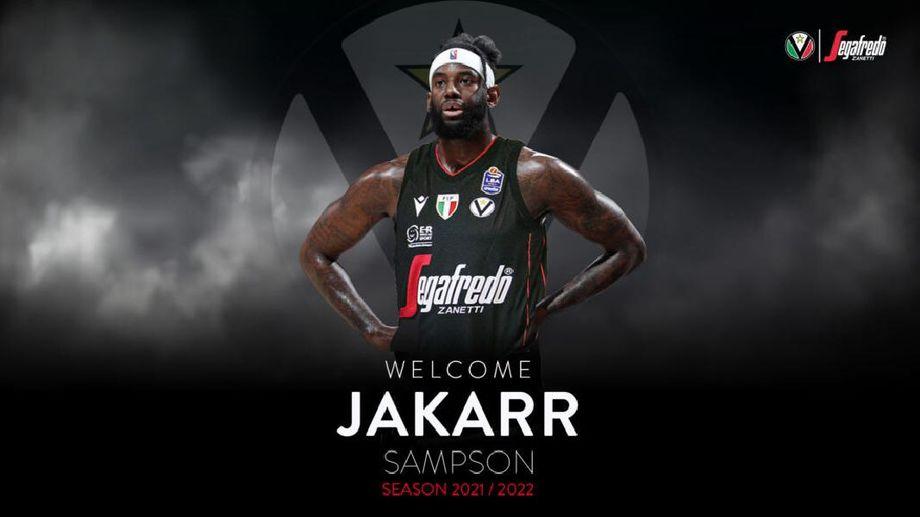 Virtus Segafredo Bologna, ufficiale la firma di JaKarr Sampson